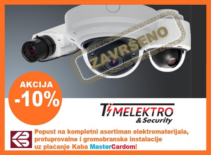 10 % POPUSTA NA PROTUPROVALNE I OSTALE ELEKTRONSKE SUSTAVE TE RADOVE U TIMELEKTRO & SECURITY OZALJ
