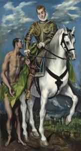 El Greco   San Martín Y El Mendigo 162x300